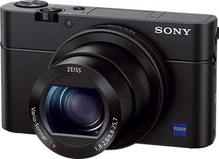 SONY Cyber-shot DSC-RX100 III - Kompaktkamera (Fotoauflösung: 20.1 MP) Schwarz
