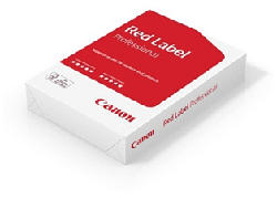 CANON 5892A009 RED LABEL A4 -  (Bianco)