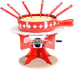 MediaMarkt NOUVEL Fromage à fondue - Fromage à fondue (Rouge/Blanc)