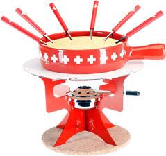 NOUVEL Fromage à fondue - Fromage à fondue (Rouge/Blanc)