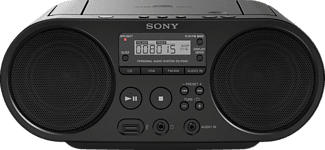 SONY ZS-PS50B - Boombox (AM, FM, Nero)