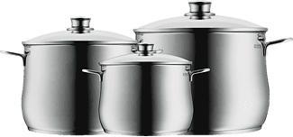 WMF Batterie de cuisine, 3 pièces Diadem Plus - Lot de 3 casseroles