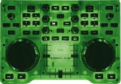 HERCULES DJ Control Glow green - Controllore DJ (Verde)