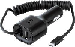 ISY ICC-5000 - Chargeur de voiture (Noir)