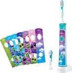 MediaMarkt PHILIPS SONICARE Sonicar HX6322/04 - Elektrische Zahnbürste für Kinder (Blau)