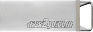 DISK2GO Tank - Clé USB  (128 GB, Argent)