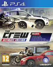 PS4 - The Crew - Ultimate Edition /Mehrsprachig