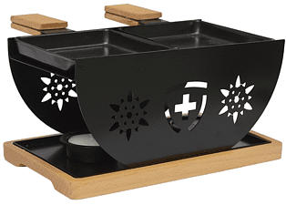 HEIDI CHEESE LINE Flower Set - Raclette (Nero)