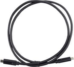 TARGUS ACC927EU - USB-C Kabel (Schwarz)