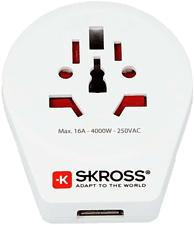 SKROSS World to Europa - Adapter (Weiss)