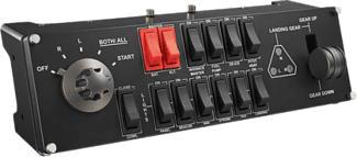 LOGITECH G Pro Flight Switch Panel - Schalttafel (Schwarz)