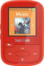 SANDISK Clip Sport Plus - Lecteur MP3 (16 GB, Rouge)