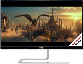 """AOC Style-line I2481FXH - Monitor (23.8 """", Full-HD, 75 Hz, Schwarz)"""