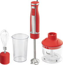 ROTEL U396CH1 MULTIMIX RED - Stabmixer (Weiss/Rot)