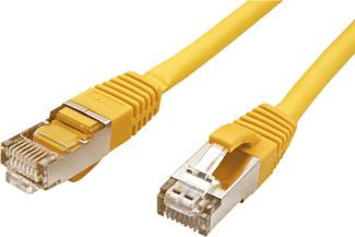 VALUE 21.99.1242 - Câble réseau (Jaune)