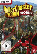 PC - RollerCoaster Tycoon World /D