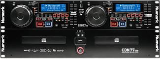 NUMARK CDN77 USB - Contrôleur DJ (Noir)