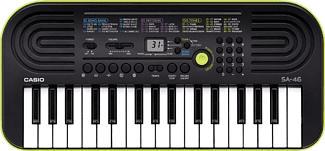 CASIO CASIO SA-46 - Instrument de musique - 32 mini-touches - Noir/Vert - Clavier (Vert)