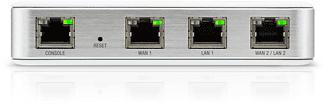 UBIQUITI USG - Router (Silber)