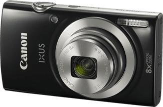 CANON Ixus 185 - Fotocamera compatta (Risoluzione efficace della foto: 20 MP) Nero