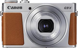 CANON PowerShot G9 X Mark II - Kompaktkamera (Fotoauflösung: 20.9 MP) Silber/Braun