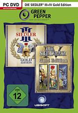 PC - Die Siedler 3 - Gold Edition + Die Siedler 4 - Gold Edition /D