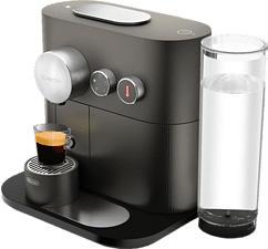 DE-LONGHI Expert EN350.G - Nespresso® Kaffeemaschine (Grey)