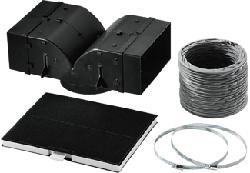 BSH LZ53450 - Kit de recyclage pour hotte (Noir)