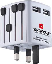 SKROSS NA 734 World - USB Charger (Weiss)