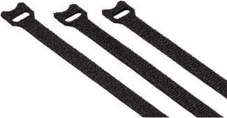 HAMA 00020547 - Kabelbinder (Schwarz)