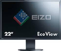 """EIZO EV2216W - Moniteur (22 """", SXGA+, 60 Hz, Noir)"""