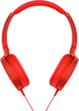 SONY MDR-XB550AP - Kopfhörer (On-ear, Rot)