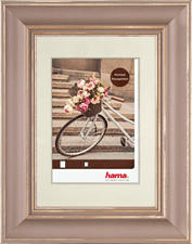HAMA Cadre photo en bois Vélo -  (Cappuccino)