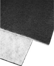 XAVAX Dunstabzug Flausch/Aktivkohlefilter - Flausch-/Aktivkohlefilter (Schwarz)