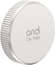 ANDI BE FREE 4260487750065 - caricabatterie universale (Bianco)
