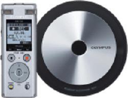 OLYMPUS DM-720 Meet & Record Kit S - Enregistreur vocal (Argent)