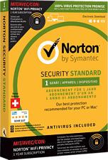 PC/Mac - Norton Security Standard mit Norton WiFi Privacy /Mehrsprachig