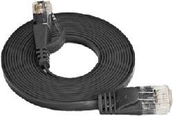 WIREWIN PKW-SLIM-KAT6 5.0 SW - UTP-Kabel (Schwarz)