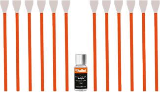 ROLLEI Sensor Cleaning Set MFT - Sensorreinigung (Orange/Weiss)