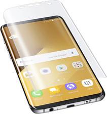 CELLULAR LINE Curved Schutzfolie - Schutzfolie (Passend für Modell: Samsung Galaxy S8 Plus)