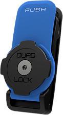 QUAD LOCK Belt/Utility Clip - Clip da cintura (Nero/Blu)