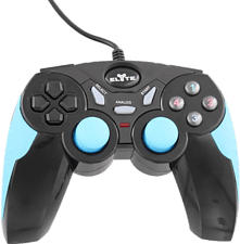 TNB Elyte Wired - Controller (Nero/Blu)