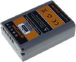 MediaMarkt PATONA Akku pour Olympus BLN-1 - Batterie Li-Ion (Gris)