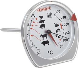 LEIFHEIT 03096 2 - Termometro da forno/forno (Bianco)