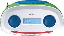 LENCO SCD-70 - Boombox (FM, Mehrfarbig)