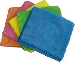 COPLAX SHINE MICROFIBER TOWEL 5PCS - Mikrofasertuch (Blau/Gelb/Pink/Orange/Grün)
