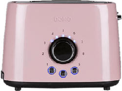 DOMO DO952T - Grille-pain (Rose)