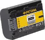MediaMarkt PATONA Akku für Sony NP-FH50 - Akku (Schwarz)