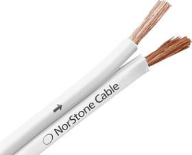 NORSTONE NSC-WH250/10 - Cavo per altoparlante (Bianco)
