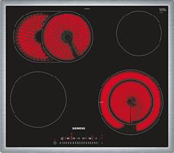 SIEMENS ET645FNP1C - Piastra (Acciaio inox/Nero)